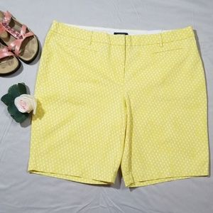 Land's End Printed Chino Shorts Calm Citrus Geo 18